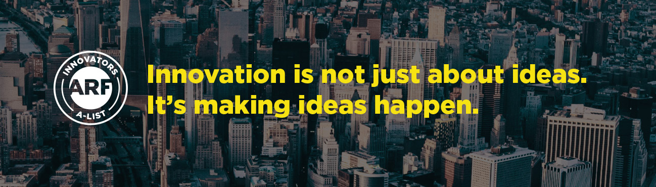 Innovation is not just about ideas. It's making ideas happen.